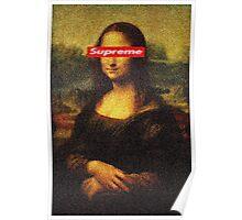 Supreme Mona Lisa Poster