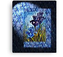Irises Fantasy Canvas Print