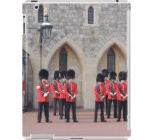 Ceremonial Guards iPad Case/Skin