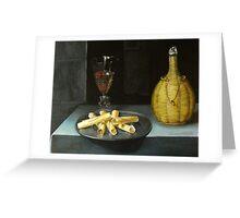 le dessert de gauffrettes Greeting Card