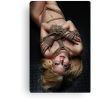 Nude, Bound - Fine Art of Bondage Canvas Print