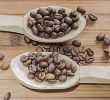 Coffee beans by Robert Boss
