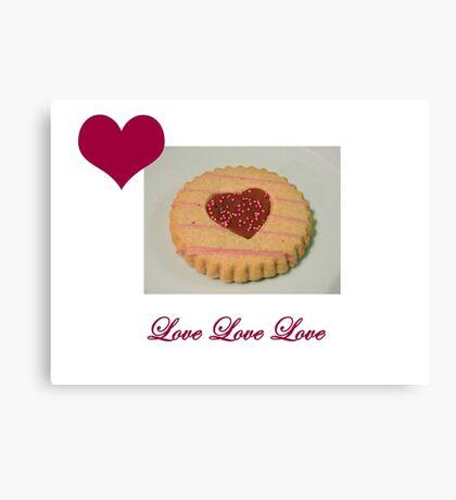 Love Biscuit Canvas Print