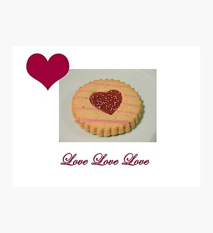 Love Biscuit Photographic Print