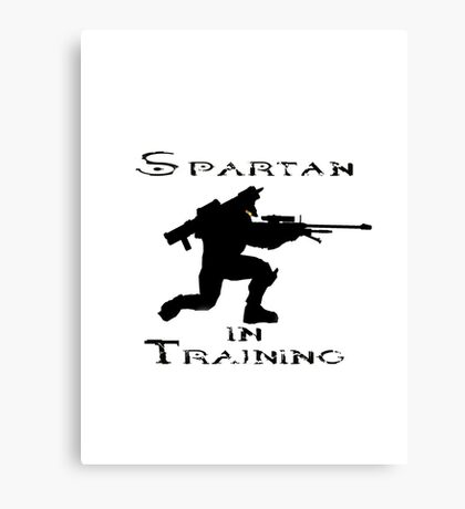 Spartan In Training Canvas Print