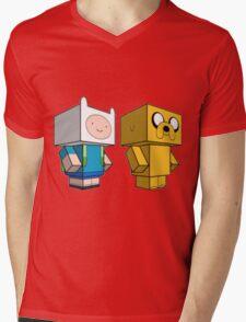 AdventureCraft Mens V-Neck T-Shirt