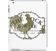 The Cock and Wire zombie pub iPad Case/Skin