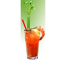 Bloody Mary Hand-Crafted Photographic Print