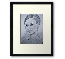 Victoria Beckham Framed Print