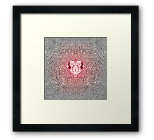 Light Rose Rubin Heart Framed Print