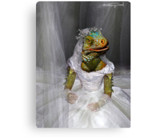 Woe-Man Series 7: woes of bride-zilla  Canvas Print