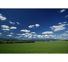 View from Yering Station Winery Photographic Print