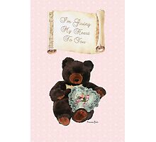 This One's for You~ Baby Bear Photographic Print