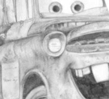 Mater Cars Sticker