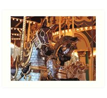 The Golden Age of The Carousel Art Print
