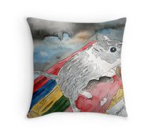 gerbil Throw Pillow