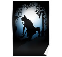 Howling Into The Woods Poster