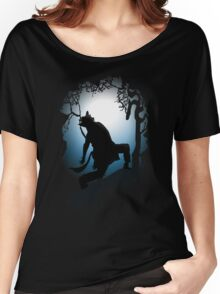 Howling Into The Woods Women's Relaxed Fit T-Shirt