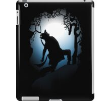 Howling Into The Woods iPad Case/Skin