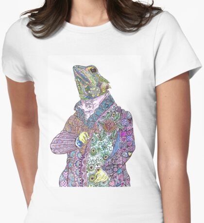 Fredrick the Forest Dragon Womens Fitted T-Shirt