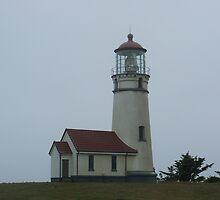 Cape Blanco Lighthouse by Edith Farrell