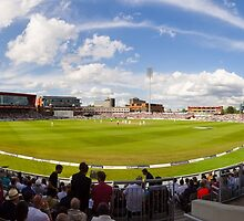 Old Trafford Cricket Ground by TomGreenPhotos