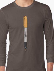 Doodler Orange (2 of 4) Long Sleeve T-Shirt