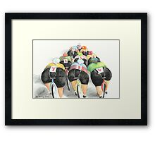 The Back End of the Bunch Framed Print