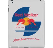 Red Walker iPad Case/Skin