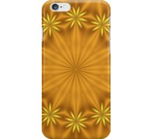 Ring of Gold Flowers iPhone Case/Skin