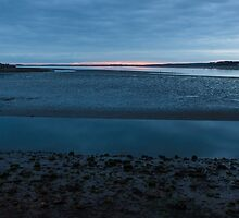 Sunset over the Menai Strait by TomGreenPhotos
