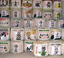What are these ?? - solved  -  barrels of Saki by MichaelBr