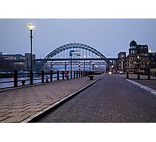 Tyne Bridge - Rugby World Cup 2015 - Host City Newcastle Upon Tyne Photographic Print