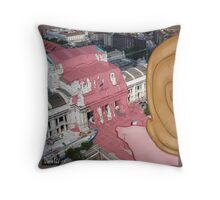 Monsters in Milan 4  Throw Pillow
