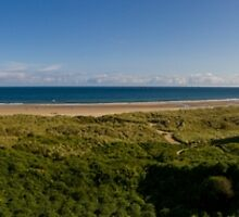Bamburgh Castle Panorama by TomGreenPhotos