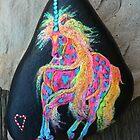 Rock 'N' Ponies - SPLASH OF HEARTS PONY by louisegreen
