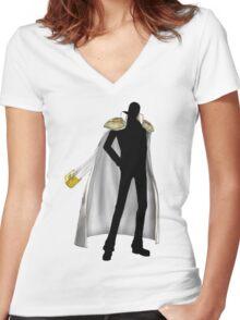 Kizaru the Yellow monkey Women's Fitted V-Neck T-Shirt