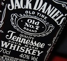 jack daniels bottle by danield1