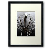 Whisk Framed Print