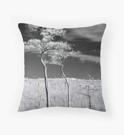Everglades Pine Throw Pillow