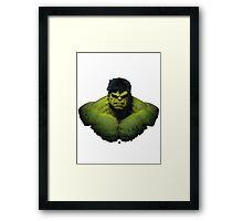 Hulk - The Avengers Framed Print