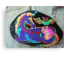 Rock 'N' Ponies - SPIKE & THE HOOTOWL #2 Canvas Print
