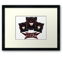 Gothic - bbymetal Framed Print