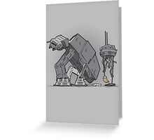 Trooper Scooper Greeting Card
