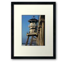 Ivory Pier Framed Print