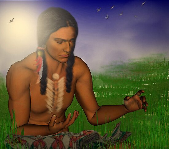 Healing earth energy by Dawnsky2