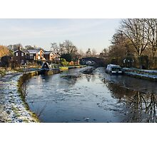 Oughtrington in Winter Photographic Print