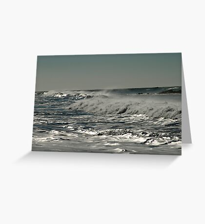 Liquid Silver Greeting Card