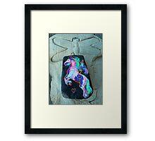 Rock 'N' Ponies - WAR FLY PONY Framed Print