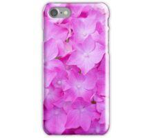 Hydrangea Flower - Light Magenta iPhone Case/Skin